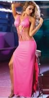 Платье розовое вечернее Путы-44-46