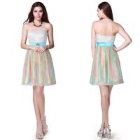 Платье разноцветное вечернее Нежное-44-46