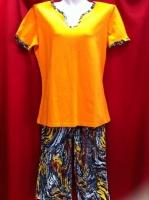 Пижама комбинированная- 44